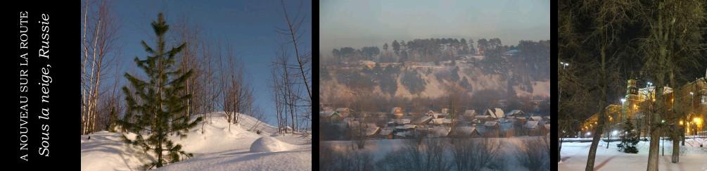 neige Russie