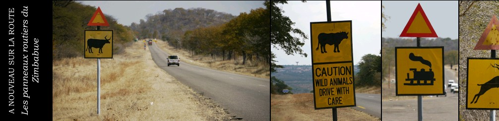 panneaux au Zimbabwe