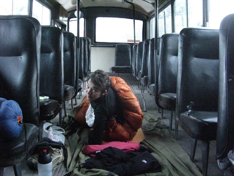 dormir bus